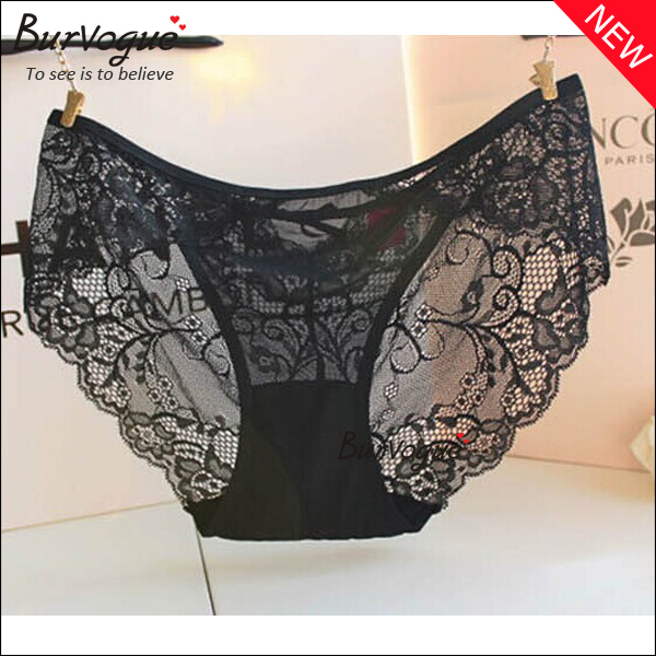 beautiful ladies lingerie lace sheer underwear panties -32028