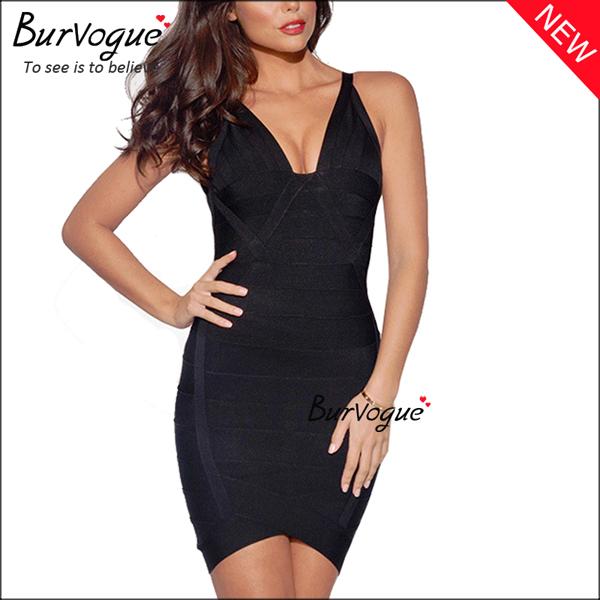 black-bodycon-dress-sleeveless-party-bandage-dress-15678