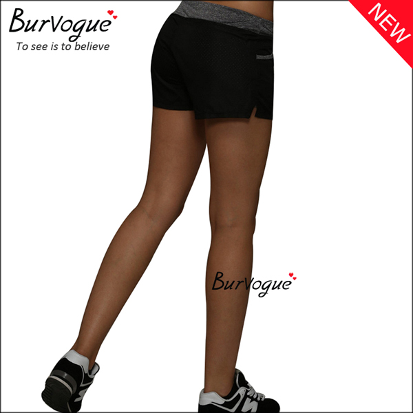 black-comfortable-sports-leggings-fitness-yoga-shorts-gym-wear-80077