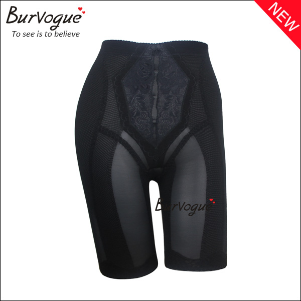 black-high-waist-control-pants-leg-body-shaper