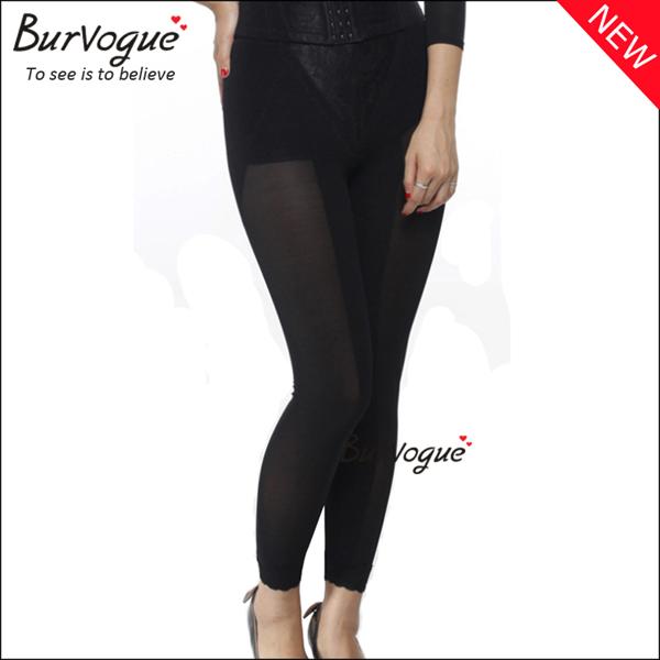 black-lace-push-up-leggings-long-legging-body-shaper-wholesale-16049