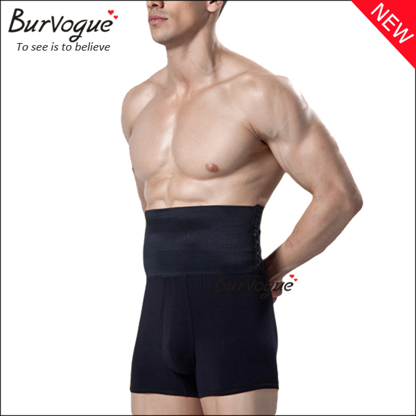 black-mens-high-waist-trainer-compression-shorts-80063