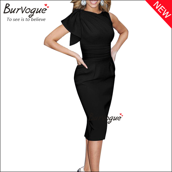 black-pencil-sheath-bandage-dress-15668