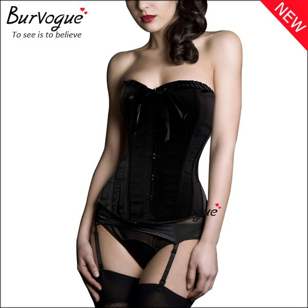 black-satin-women-corset-21135