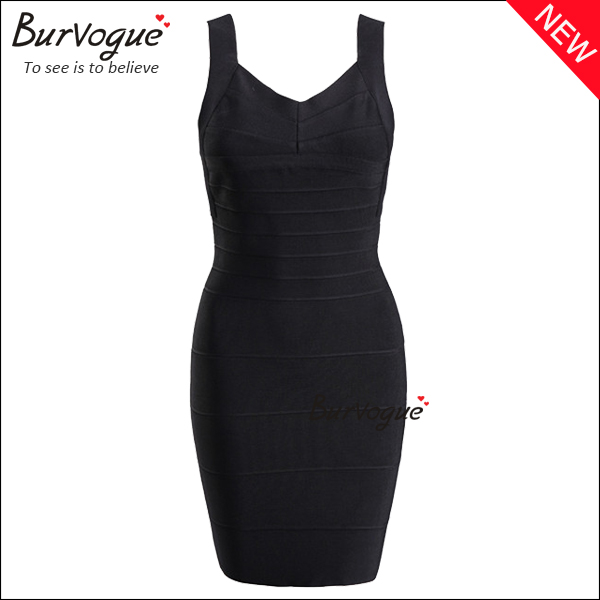 black-sleeveless-sheath-bandage-dress-15624