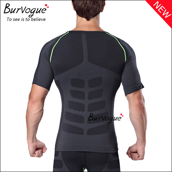 black-slimming-sports-waist-trainer-quick-dry-compression-shirts-80058