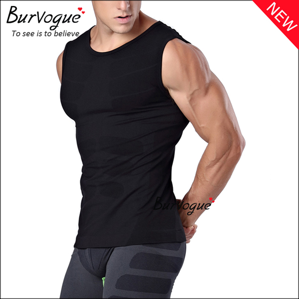 black-sports-waist-trainer-sleeveless-undershirts-body-shaper-80057