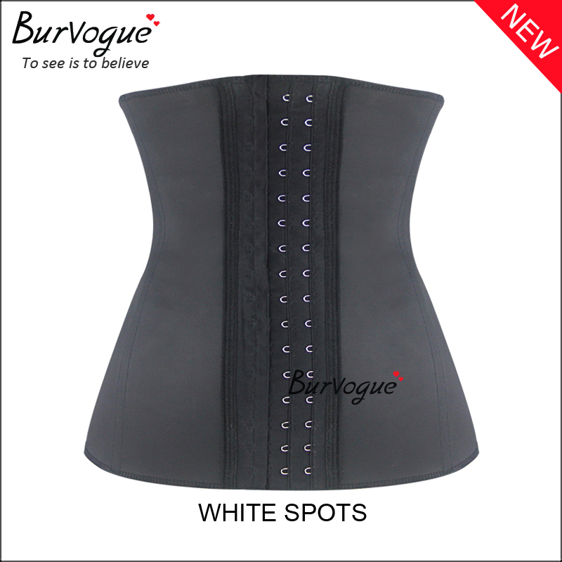 black-whitish-latex-shaper-waist-training-corset-wholesale-21412W