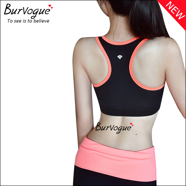black-women-seamless-running-crossover-sports-bras-wholesale-80079