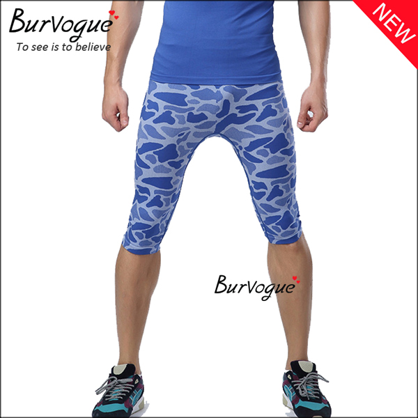 blue-fashion-military-control-crop-fitness-shorts-sports-leggings-80070