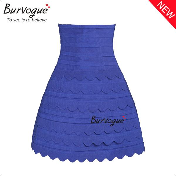 blue-high-waist-bandage-skirt-sweet-party-skirt-15619