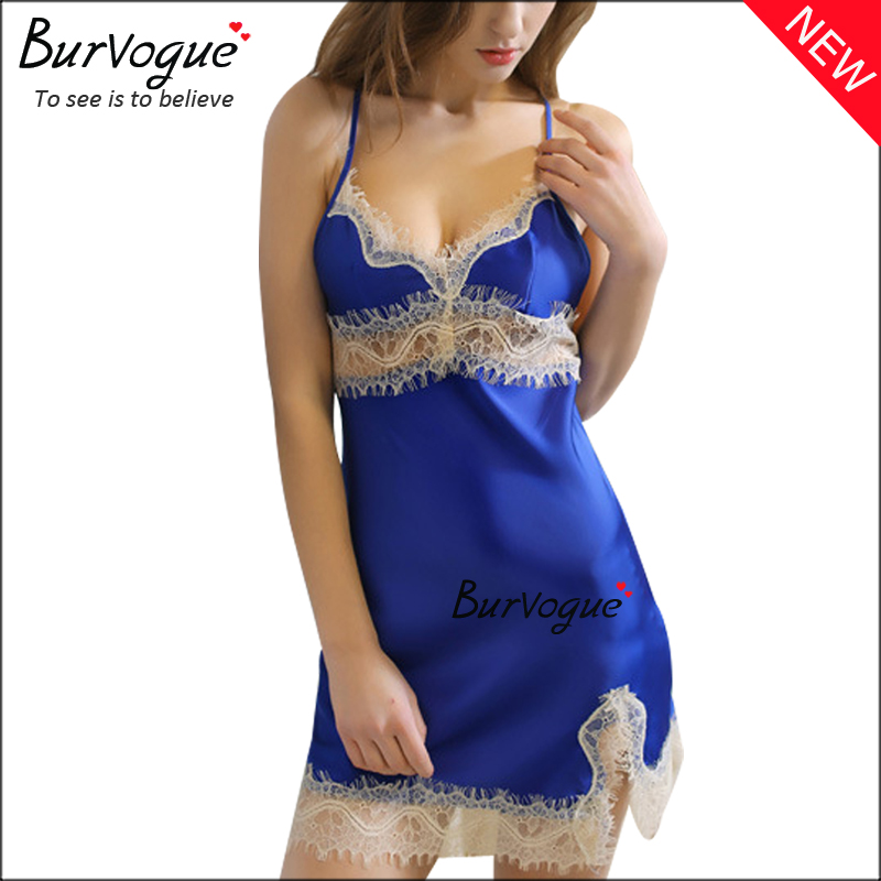 blue-lace-babydolls-lingerie-wholesale-13182