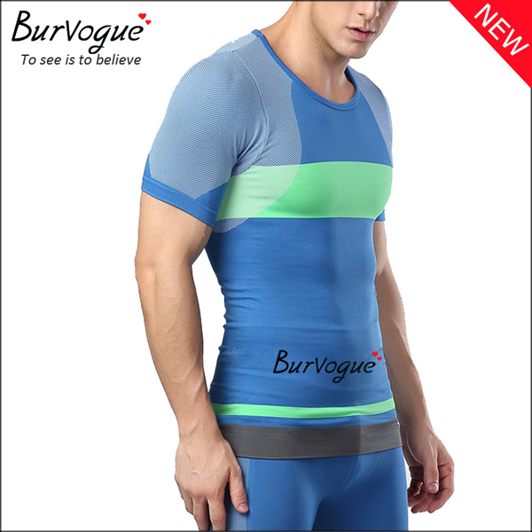 blue-men-body-shaper-short-sleeve-workout-tops-compression-shirts-80061
