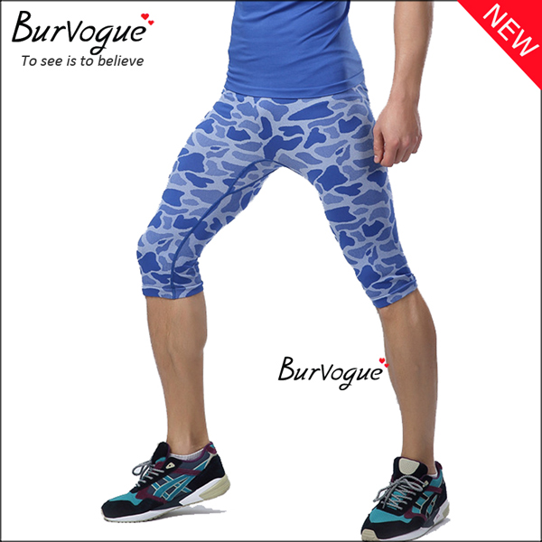 blue-military-control-crop-fitness-shorts-sports-leggings-80070