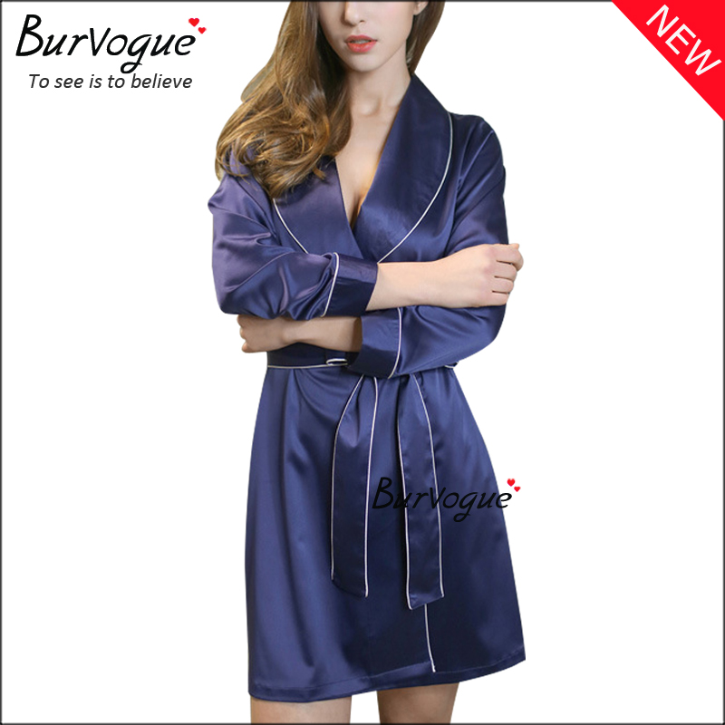 blue-pure-silk-gowns-robes-sleepwear-wholesale-13179