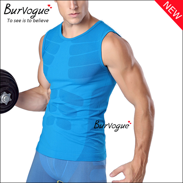 blue-sports-waist-trainer-sleeveless-undershirts-body-shaper-80057