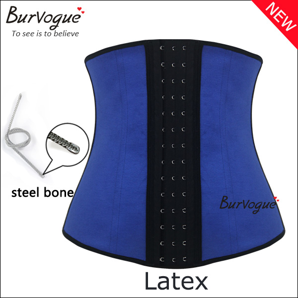 blue-three-layers-fabricwaist-training-corset-latex-shaper-21425
