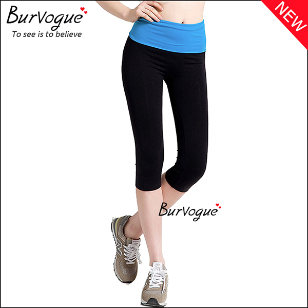 blue-tight-capri-pants-tummy-control-sports-leggings-80081