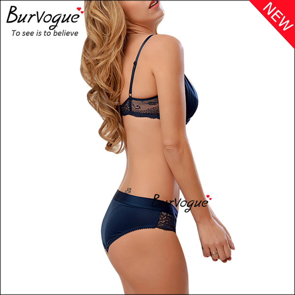 blue-women-cheap-intimate-underwear-hollow-out-push-up-bra-sets-60091