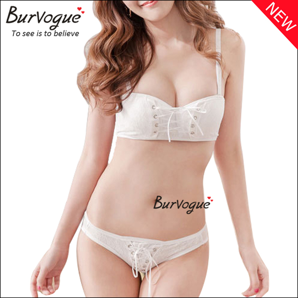 bra-set-padded-1-2-cup-push-up-bra-wholesale-60050