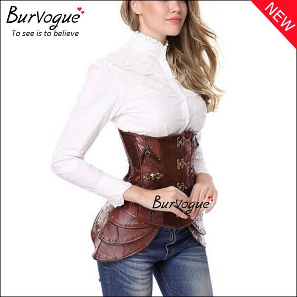 brown-steel-boned-steampunk-corset-23080