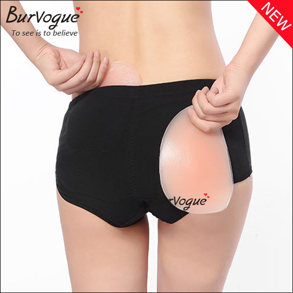 e9c8c2605 High Waisted Silicone Buttock Padded Panty Hip Up Shaper