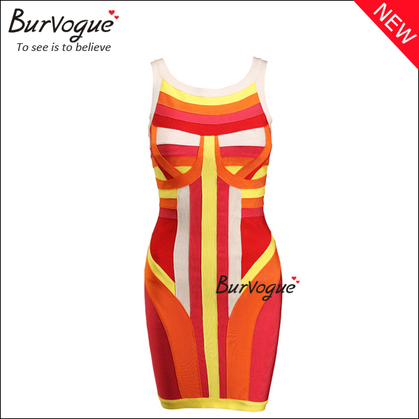 colorful-bodycon-casual-party-dress-sleeveless-bandage-dress-15639