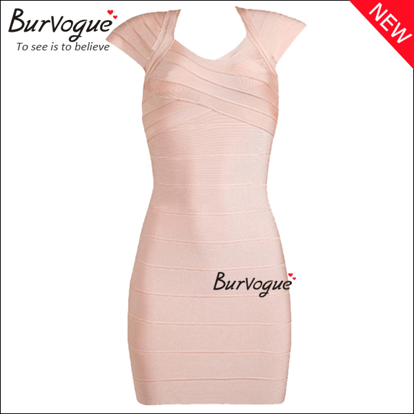elegant-short-sleeve-bodycon-dress-zips-party-bandage-dress-15630
