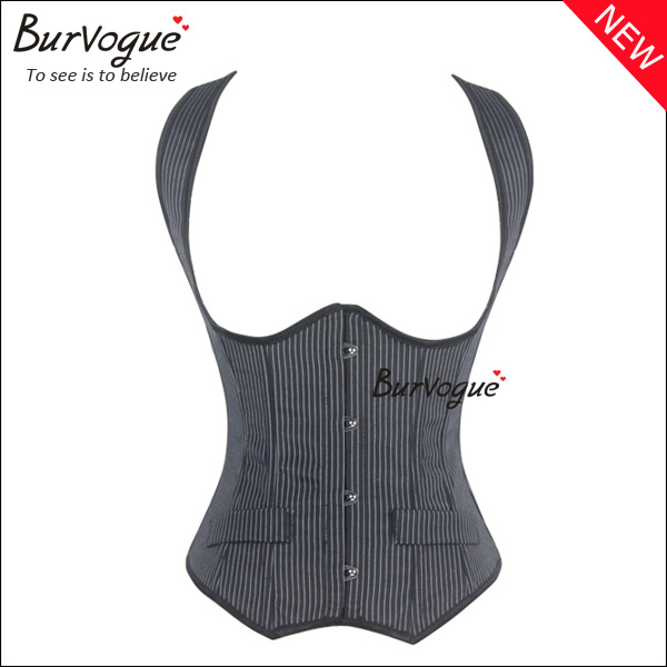 fashion stripe waist training corset women shapers wholesale-21407