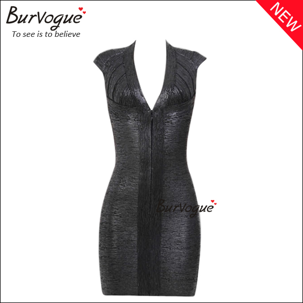 front-zipper-bodycon-dress-sexy-deep-v-backless-party-dress-15642