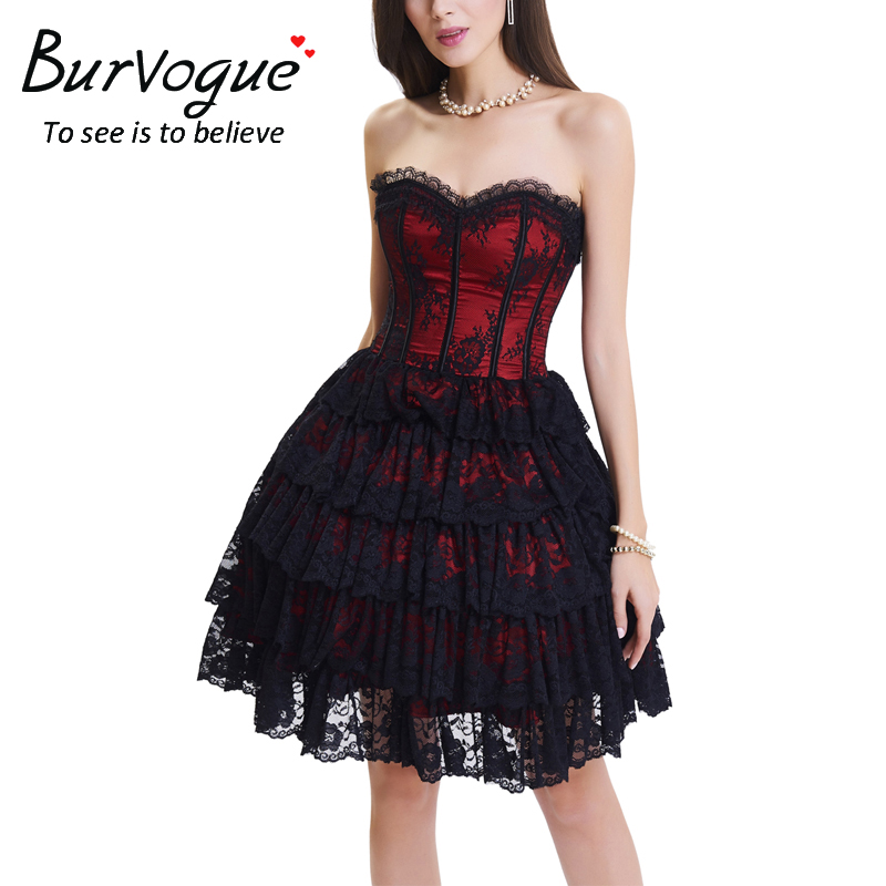gothic-lace-corset-skirts-set-21500
