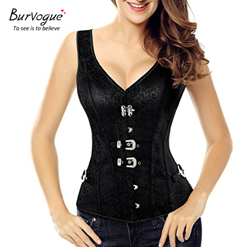 gothic-steampunk-corset-vest-with-buckles-23134