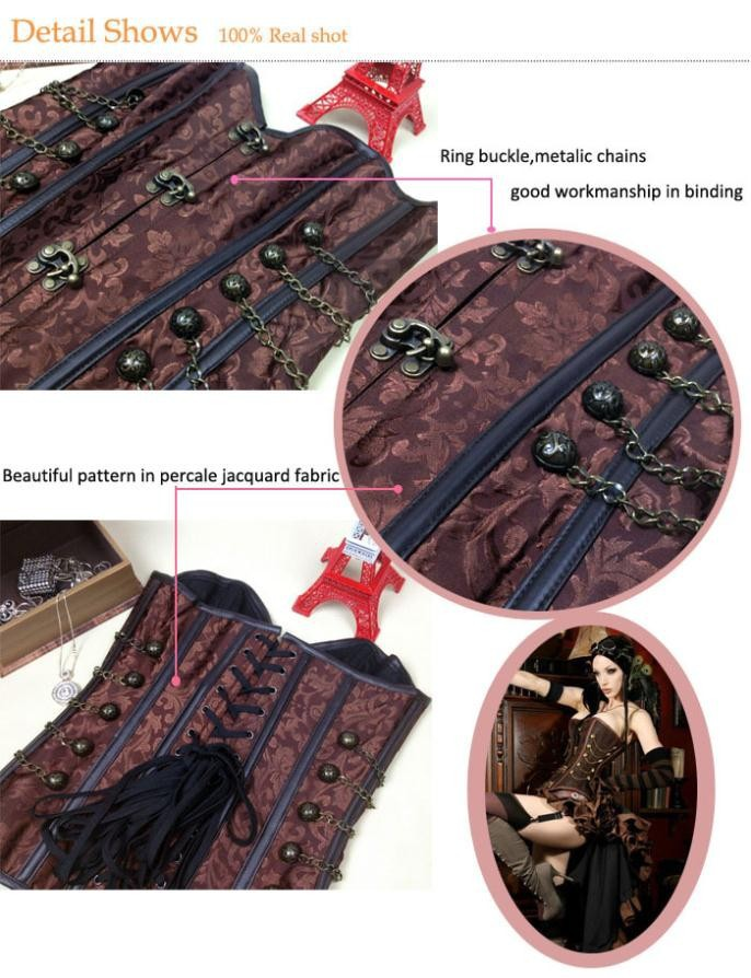 gothic-steampunk-corset-wholesale-23042