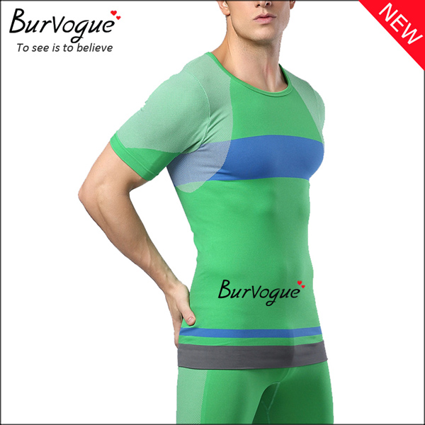 green-men-body-shaper-short-sleeve-workout-tops-compression-shirts-80061