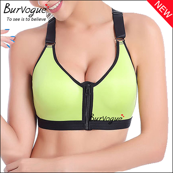 green-women-sports-bra-fitness-push-up-bra-80034