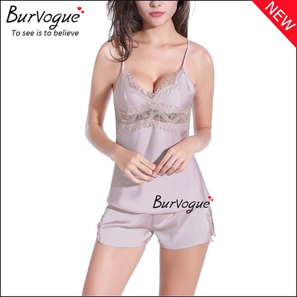 grey-backless-babydolls-cheap-lace-chemises-wholesale-13171