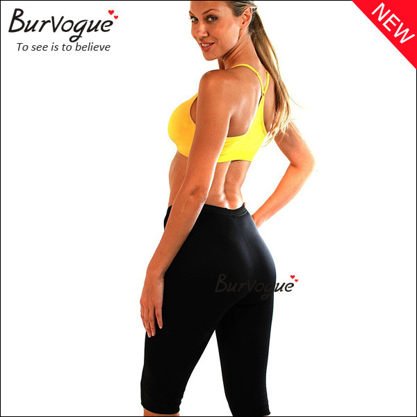 high waist workout clothes black fitness clothing for women-16022
