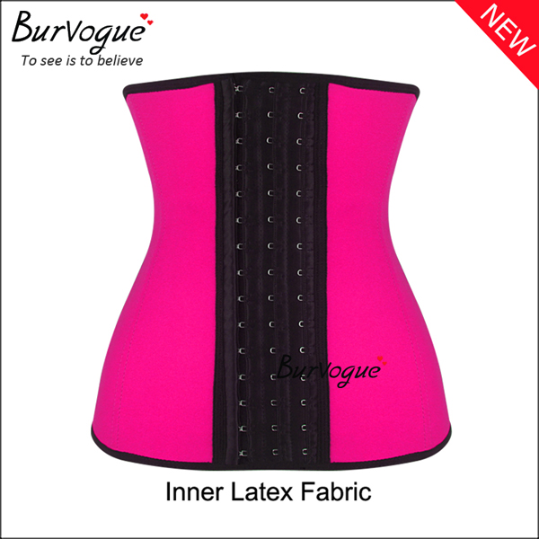 hot-pink-steel-boned-waist-training-corset-21442