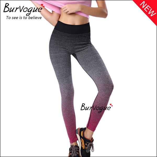 hot-pink-women-yoga-pants-active-control-sports-leggings-wholesale-80065