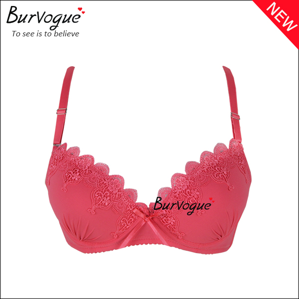 ladies-bra-cheap-underwear-lace-trim-push-up-bra-wholesale-60070