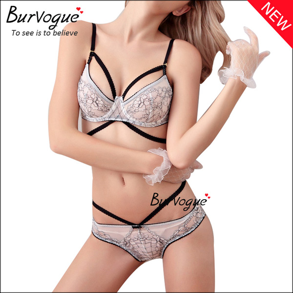 ladies-intimate-bandage-bra-cheap-underwear-sets-wholesale-60086