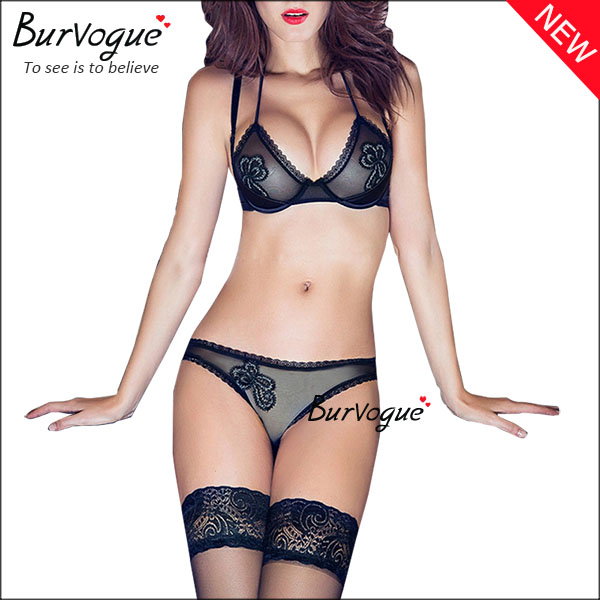 ladies-lace-trim-lingerie-mesh-transparen-bra-sets-wholesale-60078