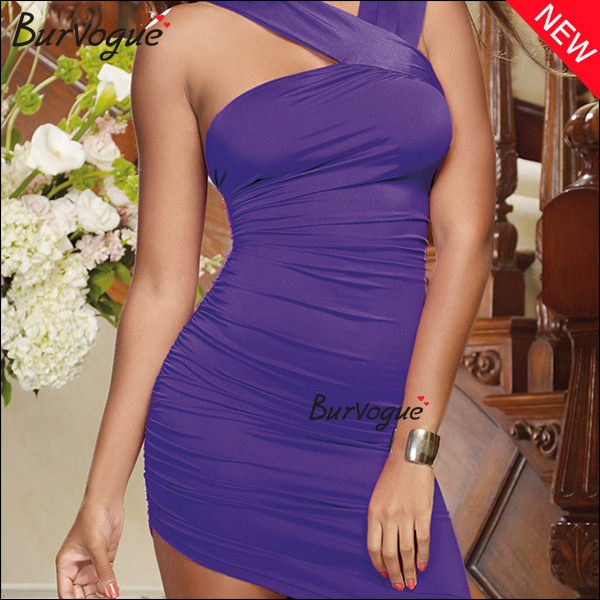 ladies-purple-one-shoulder-dress-backless-halter-neck-dress-15376