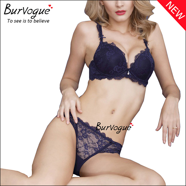 ladies-seamless-lace-padded-underwear-bra-sets-60083