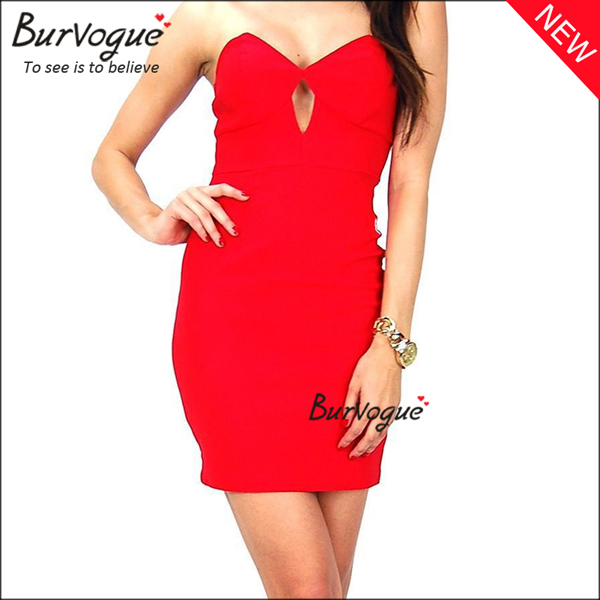ladies-strapless-party-dress-hollow-out-cheap-bodycon-dress-15673