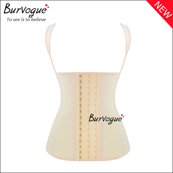 latex-shaper-steel-boned-waist-cincher-vest-training-corset-23085