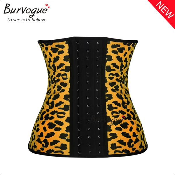 leopard-latex-waist-cincher-steel-boned-underbust-corset-21438