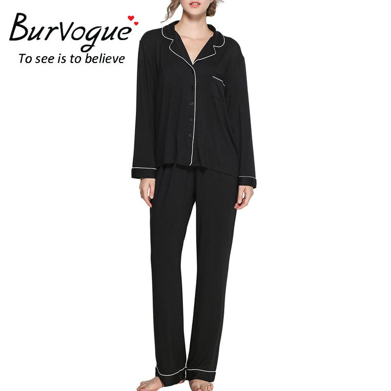 long-sleeve-elastic-waist-pajamas-sets-13625