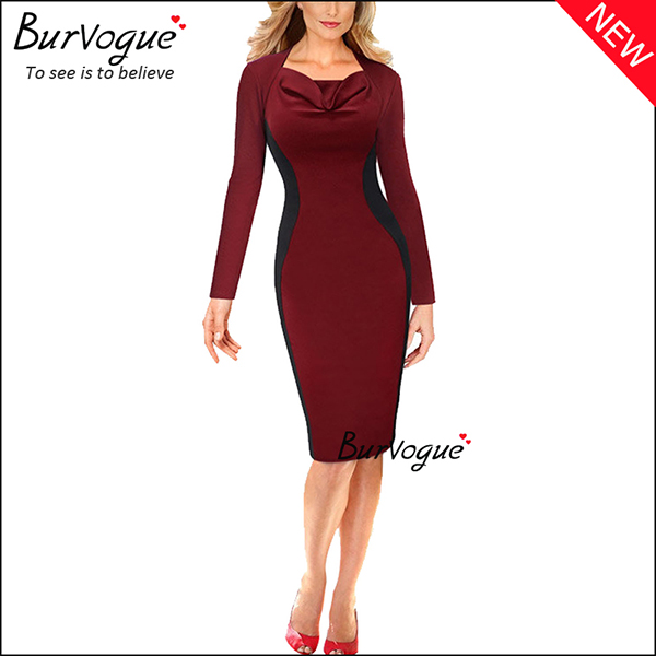 long-sleeve-sheath-pencil-bodycon-dress-15687