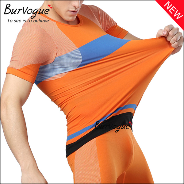 men-body-shaper-orange-workout-tops-compression-shirts-80061